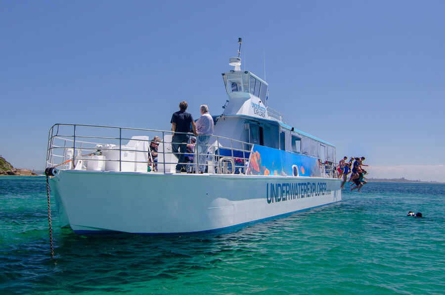 """Underwater Explorer"" Glass Bottom Underwater Viewing Boat"