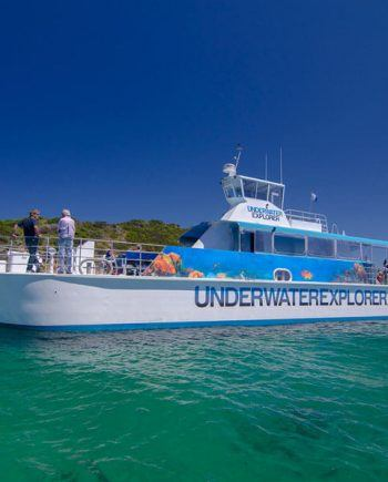 """Underwater Explorer"" Glass Bottom Underwater Viewing Boat"